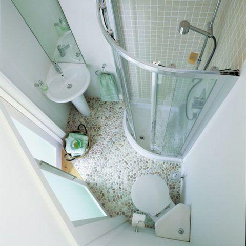Маленькая ванная комната в примерах🔴 Ванная варианты дизайна