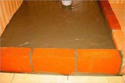 Душевая кабина из плитки 🔴 Душевая кабина из плитки своими руками