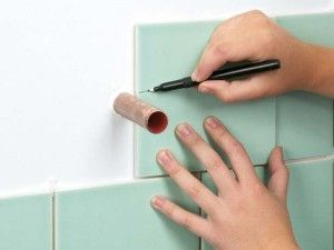 Как уложить плитку вокруг препятствий► Как уложить плитку вокруг препятствий
