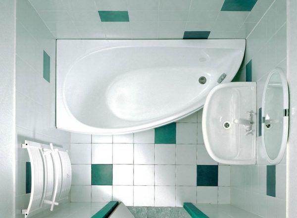 Маленькая ванная комната в примерах