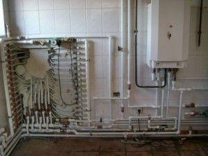 разводка, монтаж водопровода, отопления