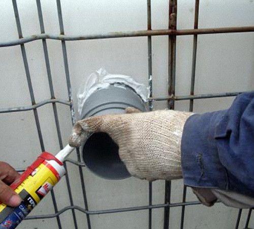 Герметизация канализационных труб🔴 Герметизация канализационных труб