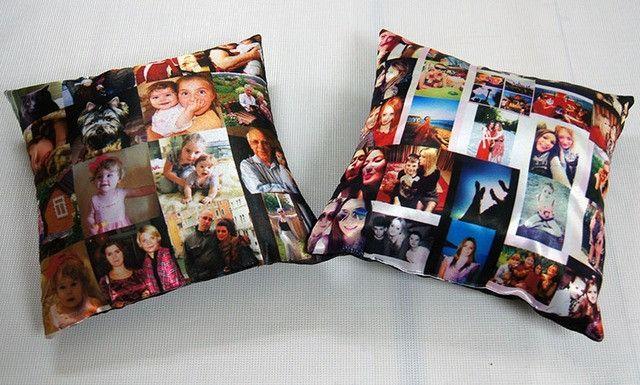 подушки с фотографиями