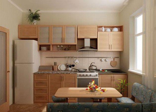 Как обустроить маленькую кухню? 10 полезных советов.