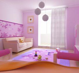 Подборка вариантов дизайна детской комнаты для девочки