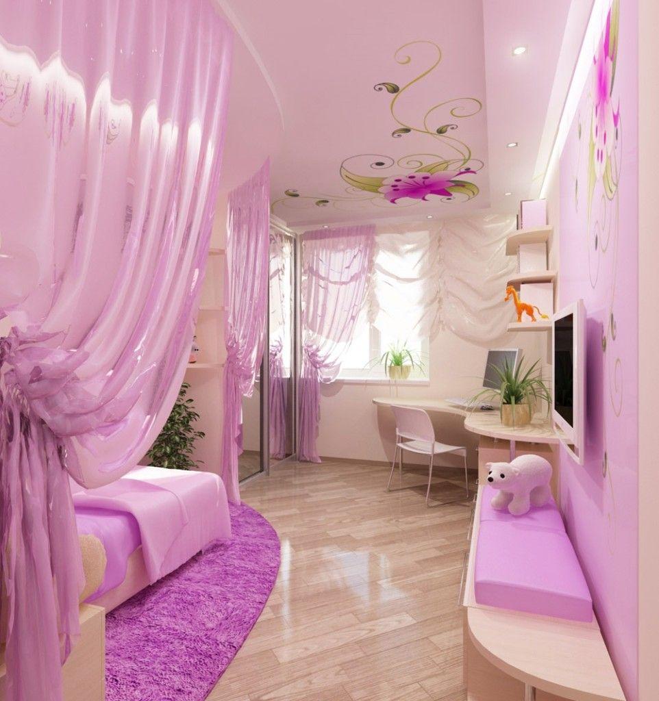 Подборка вариантов дизайна детской комнаты для девочки 🔴 Подборка вариантов дизайна детской комнаты для девочки