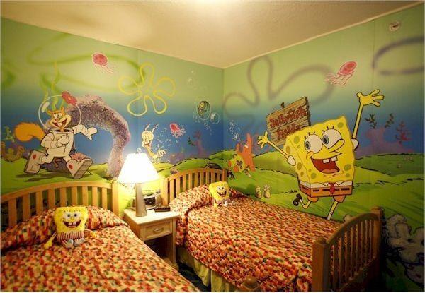 Детская комната для близнецов варианты дизайна