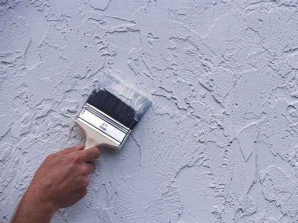 Как покрасить рельефную стену🔴 Как покрасить рельефную стену