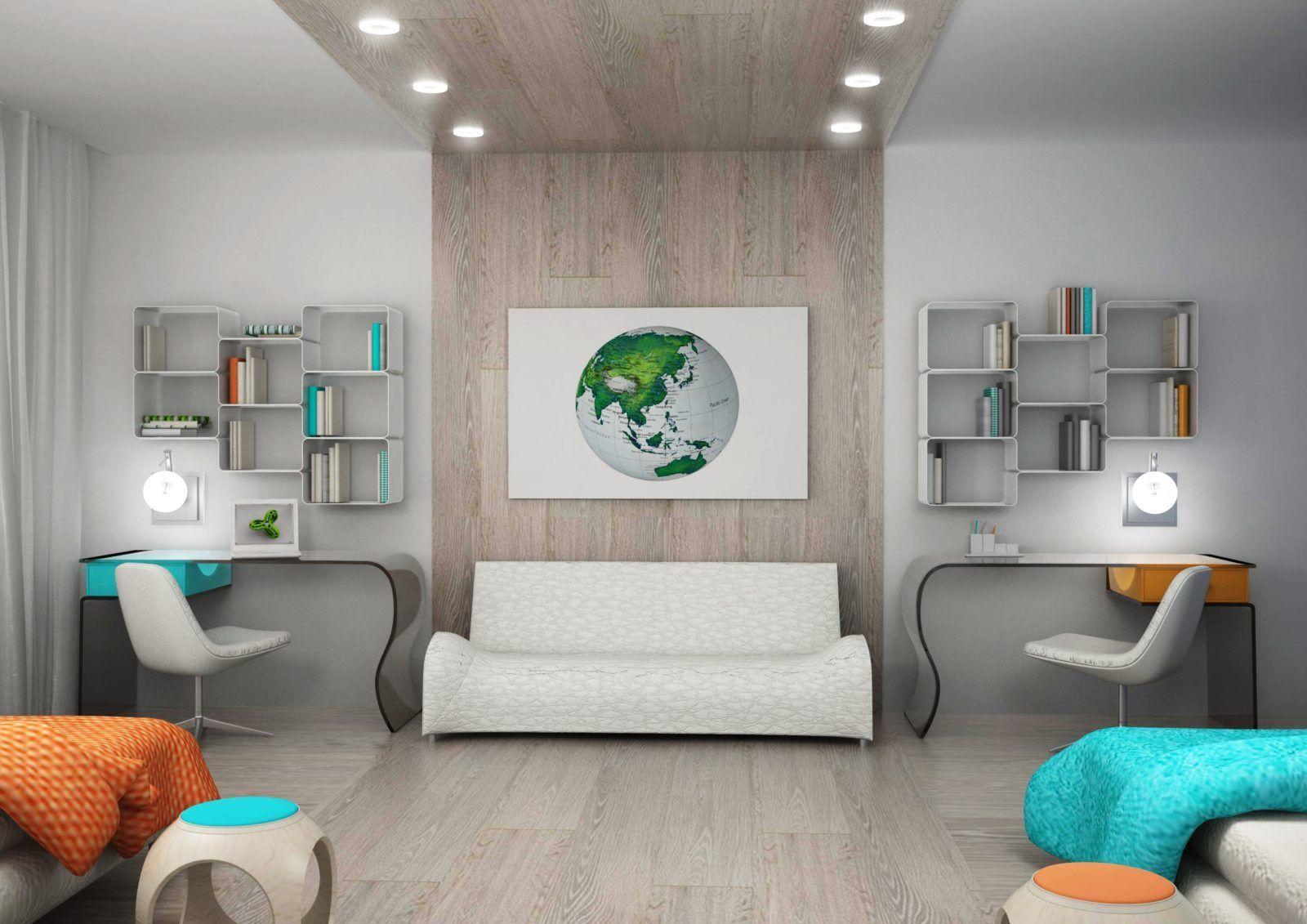 Дизайн детской комнаты для близнецов подборка вариантов