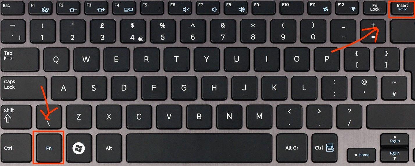 Как сделать скриншот ноутбуке🔴 Как сделать скриншот ноутбуке