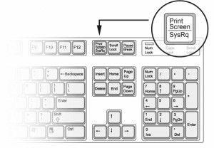 knopkaprintscreen 🔴 Как сделать скриншот на компьютере Простой способ