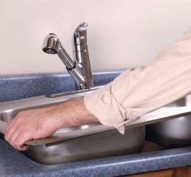 Установка кухонной мойки своими руками