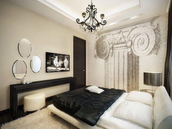 Дизайн женской спальни в примерах