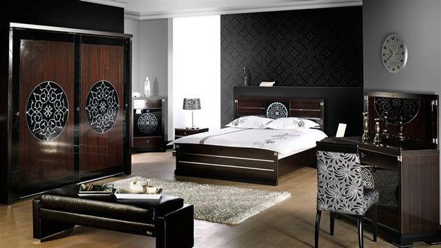 Дизайн мужской спальни в примерах