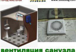 Вентиляция в ванной и туалете – расчет и проверка