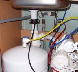 Установка водного фильтра самостоятельно