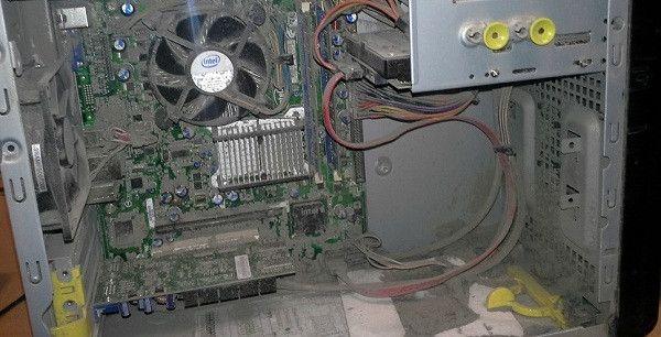 Чистим компьютер от пыли и мусора своими руками