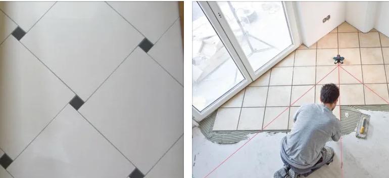 Как уложить плитку по диагонали🔴 Как уложить плитку по диагонали 🔴