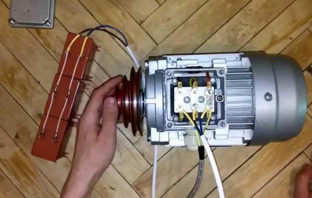 Как включить трехфазный электродвигатель в однофазную сеть - советы домашнего мастера советы по электрике на Город мастеров