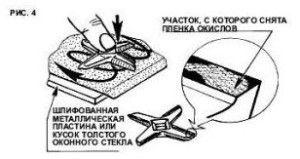 Точим ножи мясорубки
