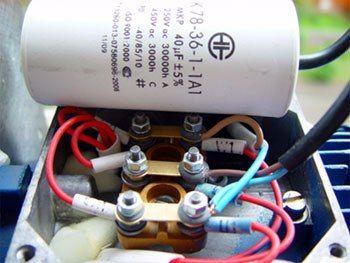 Как включить трехфазный электродвигатель в однофазную сеть🔴 Как включить трехфазный электродвигатель в однофазную сеть