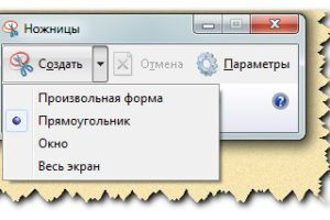 экранные ножницы для windows - очень полезный инструмент