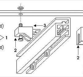 Как установить потолочный карниз своими руками (2)