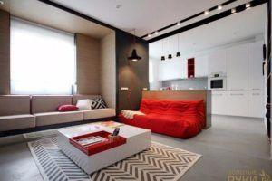 Квартира для энергичной девушки,дизайн