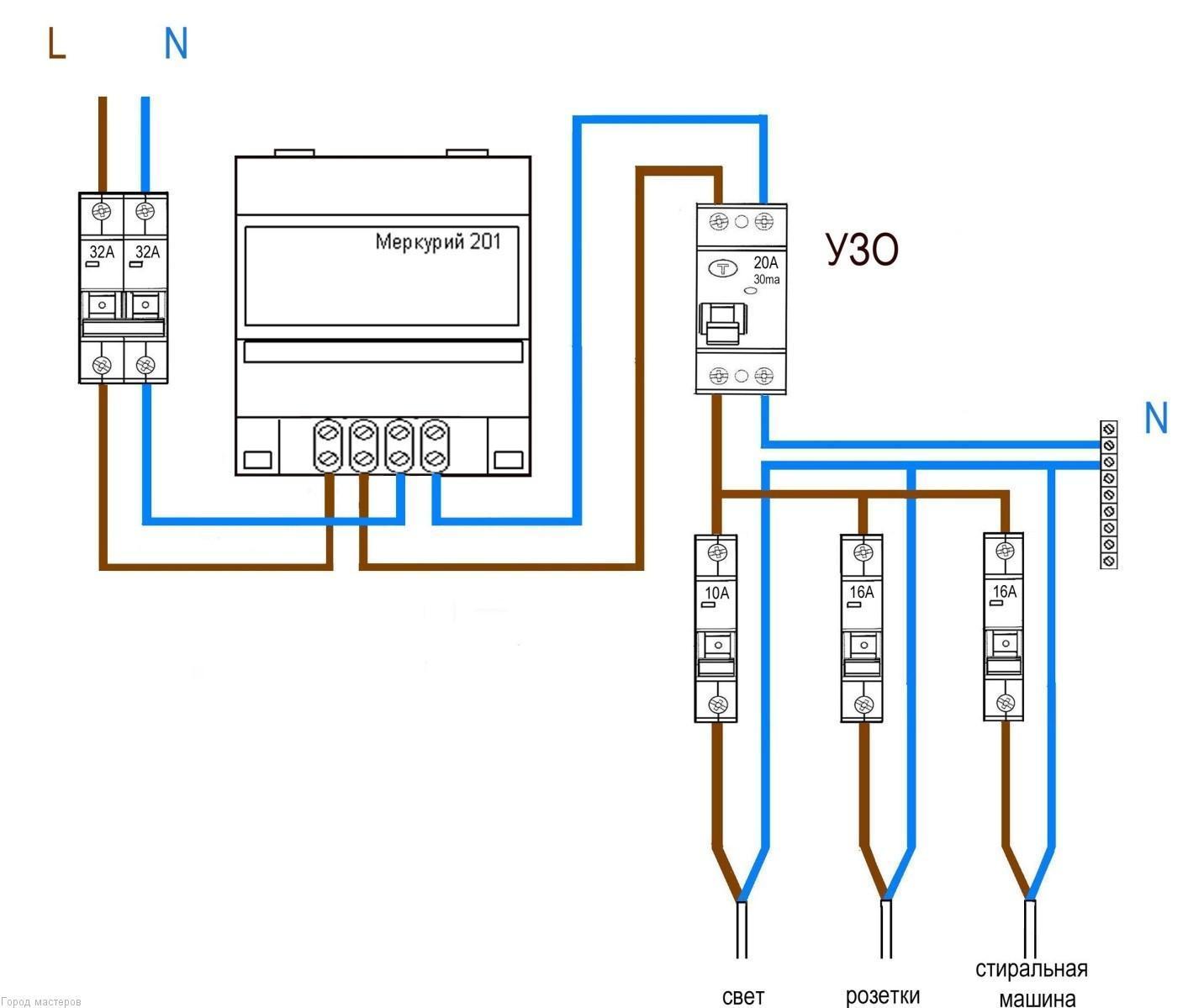 Счетчики электроэнергии меркурий схема подключения фото 808