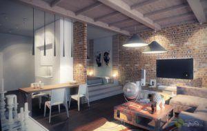 Стиль ЛОФТ в интерьере своими руками - Дизайн и интерьеры советы по ремонту квартиры и дома на Город мастеров 3