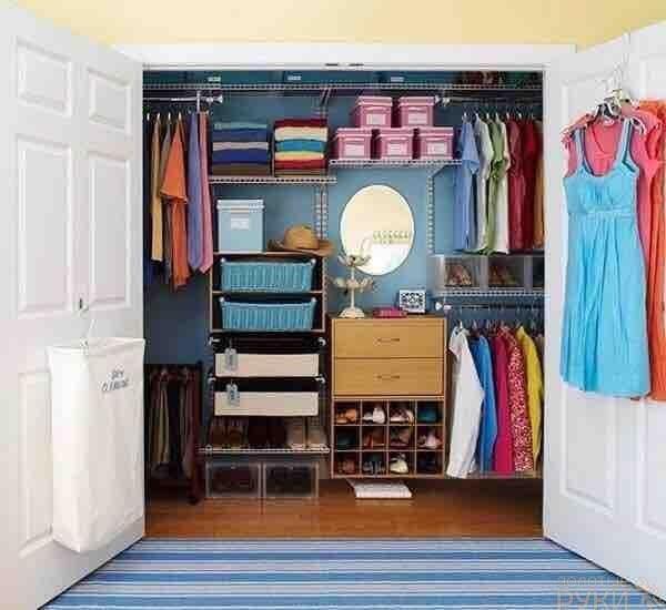 Наполнение шкафа-купе: как рационально использовать место