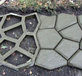 Форма из силикона для садовой дорожки своими руками - Лайфхак - хитрости и неожиданные советы на Город мастеров 3