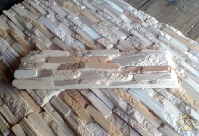 экономия на изготовлении искусственного камня из гипса своими руками