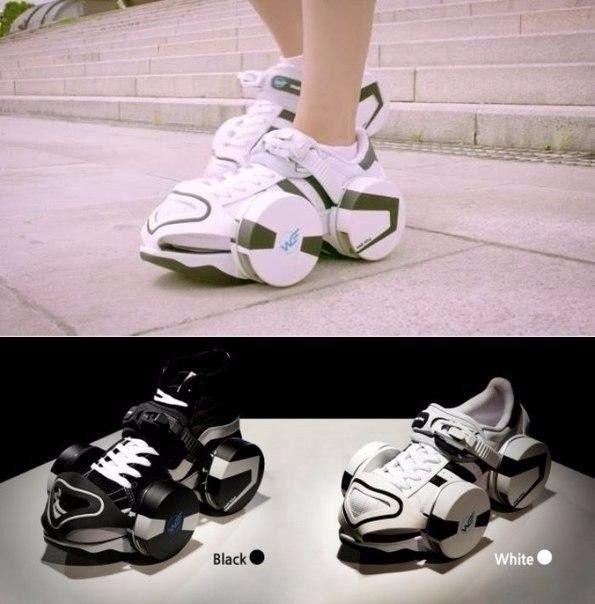 Созданы кроссовки-ролики