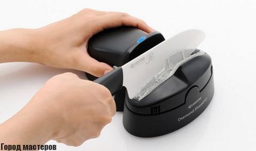 Как заточить керамический нож🔴 Как заточить керамический нож