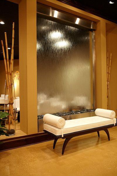Водопад или водная стена в квартире