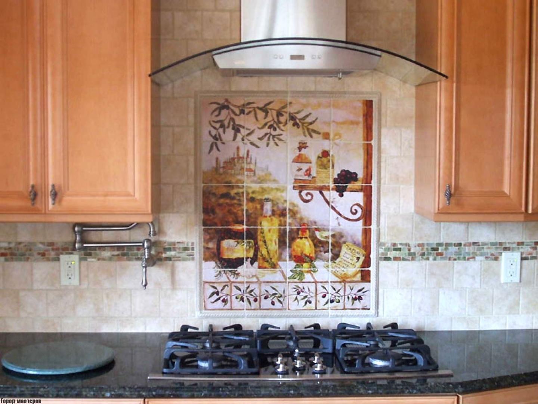 Стеклянное панно для кухни своими руками видео