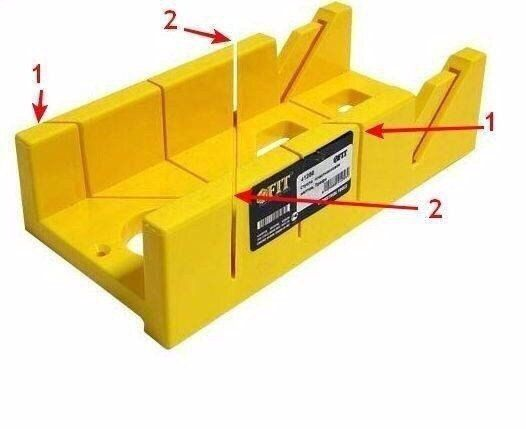 Как разрезать плинтус в углах для аккуратной стыковки?