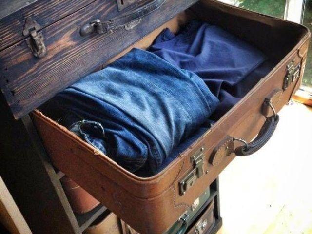 Новая жизнь старого чемодана — фотоподборка 20