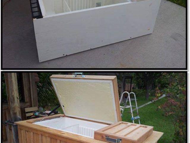 Что можно сделать из старого холодильника? 4