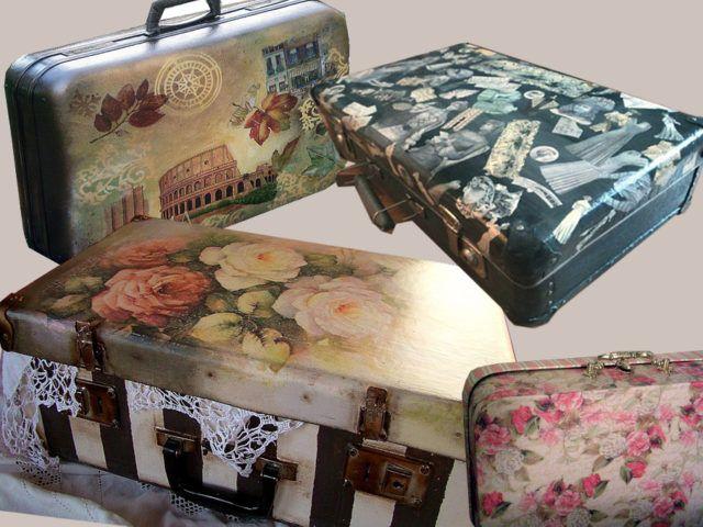 Новая жизнь старого чемодана — фотоподборка 17