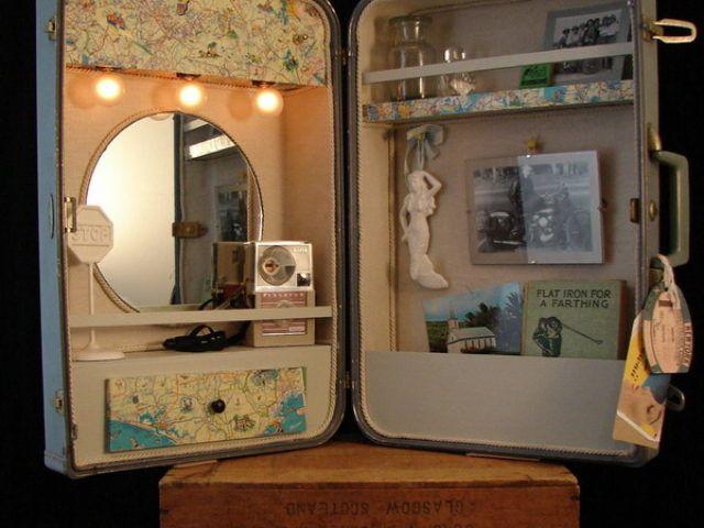 Новая жизнь старого чемодана — фотоподборка 16