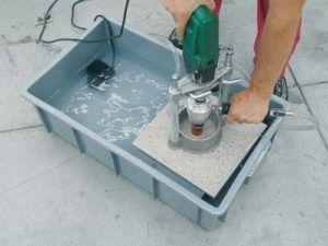 чем сверлить керамогранит - инструмент и технология сверления