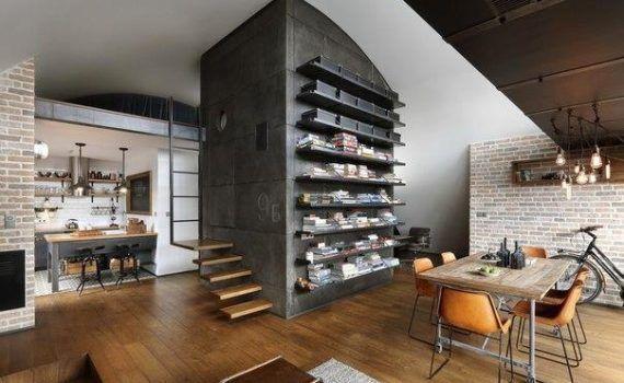 Квартира в Софии, лофт дизайн - Дизайн и интерьеры на Город мастеров 6