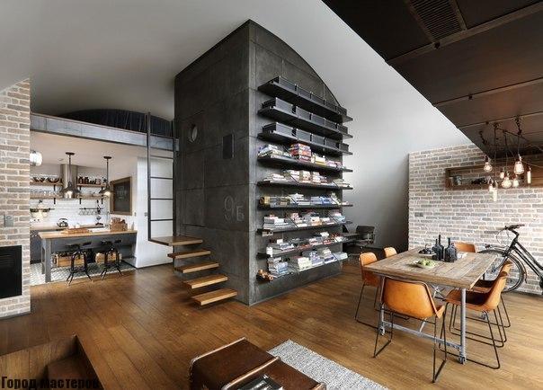 Квартира в Софии лофт дизайн🔴 Квартира в Софии лофт дизайн