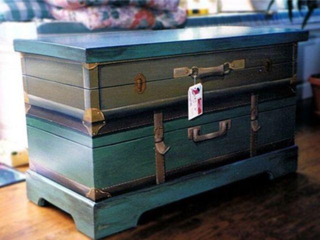 Новая жизнь старого чемодана — фотоподборка 14