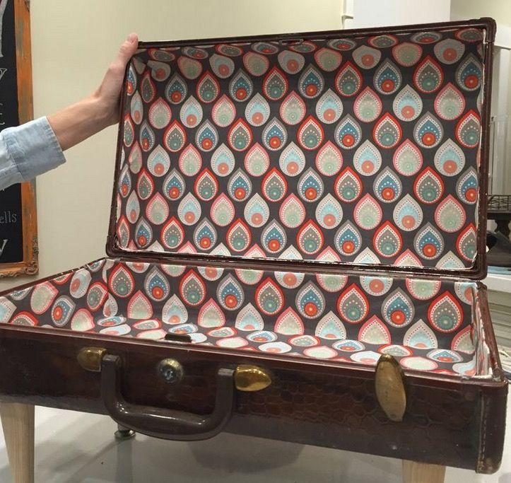 Новая жизнь старого чемодана - фотоподборка - Лайфхак - хитрости и неожиданные советы на Город мастеров 2
