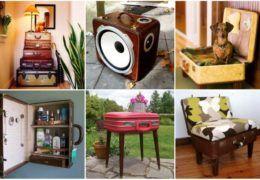 Новая жизнь старого чемодана - фотоподборка