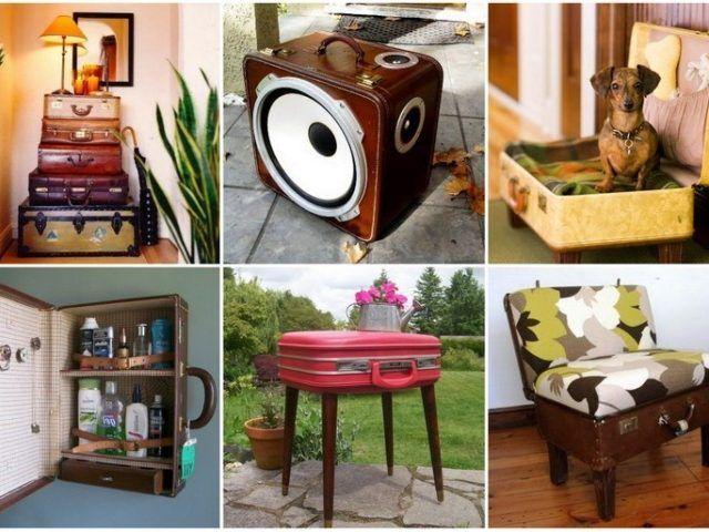 Новая жизнь старого чемодана — фотоподборка 12