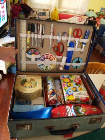 Новая жизнь старого чемодана - фотоподборка - стиль, советы, своими руками, лайфхак, дизайн